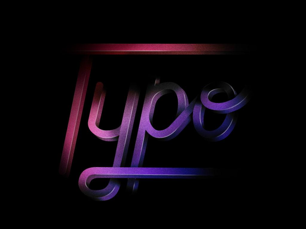3D Kalligrafie aus Photoshop Kalligrafie und Lettering Laura Stein