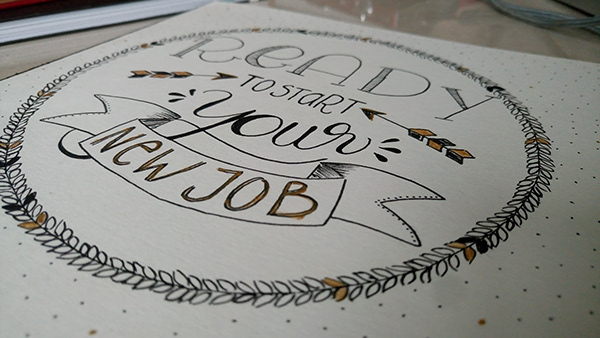 Kalligrafie und Lettering Laura Stein