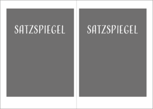 Satzspiegelbeispiel