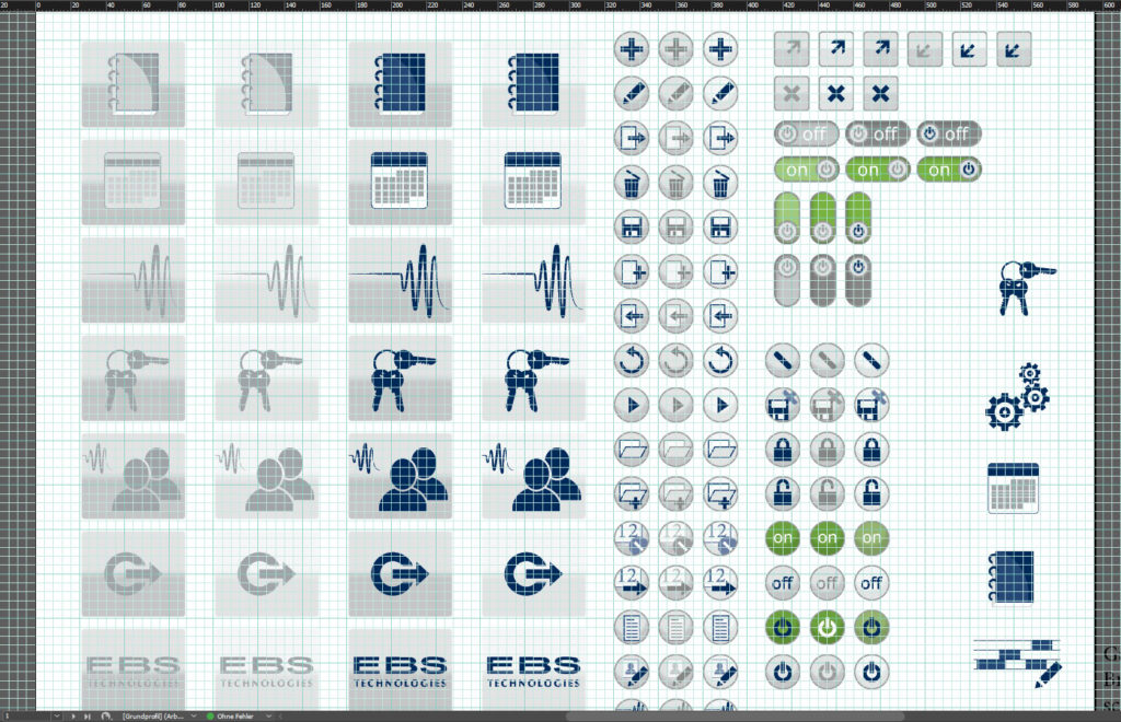 User Interface Design Buttons